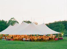 Tent Reception in Field Abby Jiu Photography