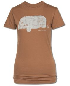 I'm not a big camper, but I would camp if I had this shirt! SoulFlowerHappy Camper Organic T-Shirt #everydaybliss