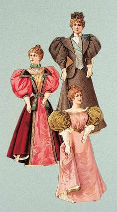 View Catalog Item - Theriault's Antique Doll Auctions Lot: 232. American Advertising Paper Dolls for S.H.& M.