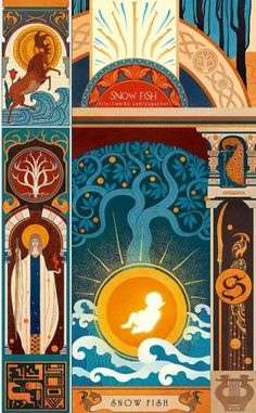 Thranduil`s and his family history by  雪鱼 (Snow Fish)