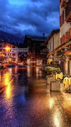 Zermatt, Visp District, Switzerland.  Go to www.YourTravelVideos.com or just click on photo for home videos and much more on sites like this.