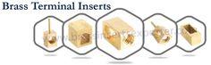 We at Satish Enterprise provides premium quality of #BrassTerminalinserts, #Brassmouldinginserts, #BrassThreadedinserts, #BrassInserts and many more. Visit @ http://www.brassinsertsexporter.com/our-products/brass-terminal-inserts/