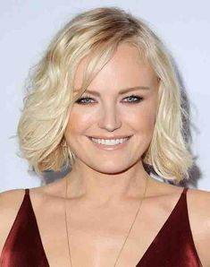 News: Malin Akerman's Beauty Secrets; Latest Haircuts, Short Bob Haircuts, Latest Hairstyles, Cool Hairstyles, Haircut Images, Winter Makeup, Hooded Eyes, Trends, Beauty Secrets