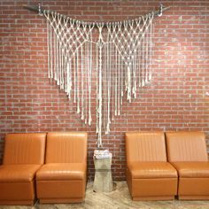 Large Boho Macrame Wall Hanging // Laura Stewart Design