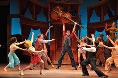 Cast of Crazy For You at Maltz Jupiter Theatre. March 29 - April 17.  Call: 561-575-2223 www.jupitertheatre.org