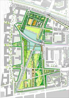 Parc Martin Luther King - Clichy Batignolles
