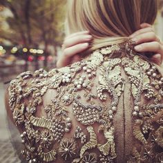 Details. embroidery. Haute Couture