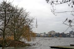 Alster views Hamburg