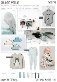Emily Kiddy: Icelandic Retreat - Autumn/Winter 2016/17 - Baby/L...