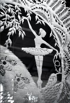 Psaligraphy - paper cut art by Karen Bit Vejle