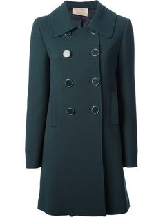 Shop Erika Cavallini Semi Couture Double Breasted Coat on dolcitrameshop.com #BelledeJour #catherine deneuve #movie #fashionmovie #fashionstyle #inspiration #fashionable #womenstyle #womenswear #erikacavallini #erikacavallinisemicouture #coat #aw13