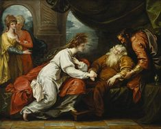 Benjamin West. King Lear and Cordelia (King Lear IV.vii). Oil on canvas, 1793. Folger Shakespeare Library.