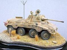 Sd.Kfz.234/2 Puma by Daniel Jarrett (Hasegawa 1/72)