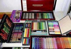 Prismacolor pencils...I want them ALL lol