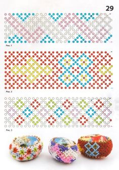 image host Beading Patterns Free, Bead Loom Patterns, Beaded Jewelry Patterns, Beading Tutorials, Bracelet Patterns, Beaded Crafts, Beaded Ornaments, Beaded Banners, Beaded Boxes