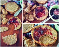 This morning for breakfast I made banana flax crackers to go with my jelly spread. I did research and make sure Smuckers didn't use gelatin in their products so it's confirmed a vegan product. It...