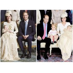 Prince George and Princess Charlotte's Christenings