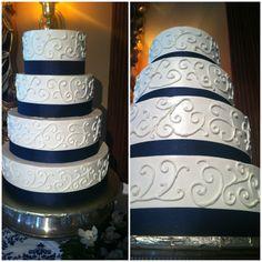 #weddingcake #ribbon #SBIN