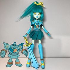 *FOR SALE* Finally finished Golurk for 's ghost Pokémon collab! This doll was so fun to make and I love how she turned… Ghost Pokemon, Pokemon Dolls, Custom Monster High Dolls, Custom Dolls, Ooak Dolls, Art Dolls, Barbie Fashionista, Doll Painting, Doll Repaint
