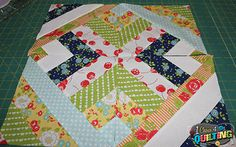 1 Choice 4 Quilting: Quick and Easy Jelly Roll Quilt Design - Week 2 Quilt Block Patterns, Pattern Blocks, Quilt Blocks, Quilt Design, Quilting Designs, Quilt In A Day, Jellyroll Quilts, Sewing Projects, Sewing Tips