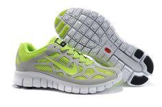 Nike Free Run +3 Grey Green