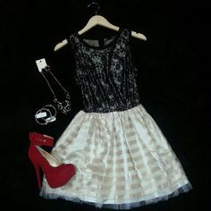 all from @Vamped Boutique Audrey Dress - Xtra Special Heel www.vampedboutique.com