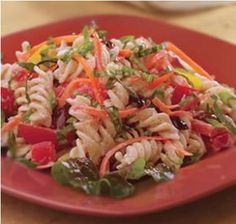 Garden Pasta Salad #Recipe, #stepbystep