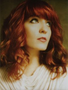 Florence Welch.  Beautiful!