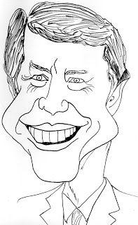 CARICATURAS DELBOY: JIMMY CARTER