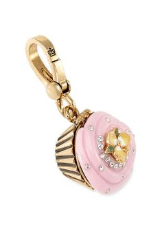 How fun is this $48 Juicy Couture Cupcake charm? I'd love to put it on my keychain, it would make me smile every time I grabbed my keys.