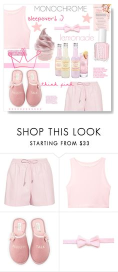 """""""Color Me Pretty: Head-to-Toe Pink"""" by orietta-rose on Polyvore featuring Givenchy, Victoria's Secret, Kate Spade, Essie, Charli and monochromepink"""
