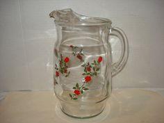 Vintage Anchor Hocking Lemonade / Iced Tea by PastPossessionsOnly, $24.95