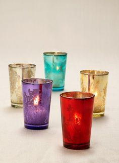 The finish on these glass votive holders resembles antique mercury glass. Use liner for fresh flower arrangements. Iconic Jamali mercury votive holders are perfect for a party, event, wedding or home. Glass Votive Holders, Tealight Candle Holders, Votive Candles, Bulk Tea, Bulk Candles, Event Lighting, Mercury Glass, Tea Light Holder, A Table