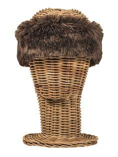 Turbante de pelo sintético para invierno - Hippie, boho-chic, ethnic style. Fashion, Casual Style. Rosebell - synthetic fur turban - winter turban