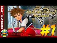 Kingdom Hearts: Re Codec Walkthrough #1 NDS - YouTube
