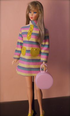 Mod Era Barbie - Twist n Turn Barbie - Summer Sand