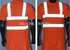 Good quality reflective T-shirt, reflective clothes, traffic safety warning reflective clothing, custom tailored cycling jerseys