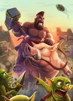 A Collection Of Stunning Clash Royale Fan Art