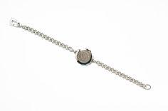 Ladies stainless steel SOS Talisman bracelet