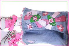 Custom painted jeans for boys and girls, women and children