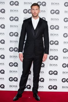 Calvin Harris aux GQ Men of the Year Awards 2016