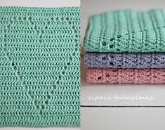 ripaus tunnelmaa: d i y lahja ystävälle Crochet Home, Crochet Motif, Knit Crochet, Towel, Crafty, Deco, Sewing, Handmade, Gifts