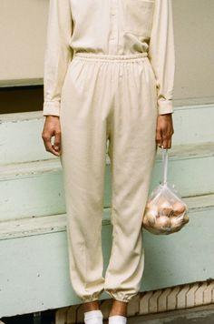 #Baserange Raw Silk Jogging Pants #joggers #newarrivals #pants #fashion #style…
