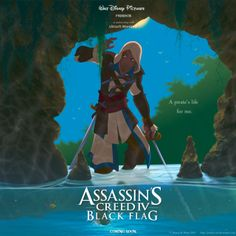 If Assassin's Creed IV Was Disney.