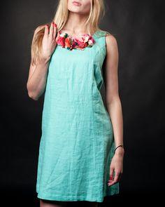 #mintdresses #summerdresses #linendresses #flowerdresses #beautydresses #saledresses Late Summer, Summer Sale, Turquoise, Summer Dresses, Fashion, Moda, Summer Sundresses, Fashion Styles, Green Turquoise