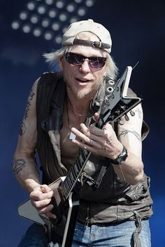 "Michael Schenker - My Favorite Guitarist. Just went to three shows for his new ""Michael Schenker's Temple of Rock - Bridge The Gap"" USA Tour. He is friggen Awesome. The album Rocks."