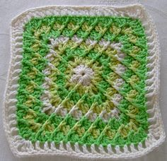 Ravelry: Tilt-A-Whirl Square. Free pattern by Chris Simon