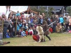 Viking Festival in Iceland - Viking fight !