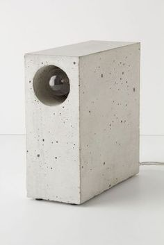 Beton Concrete Desk Lamp - anthropologie.com