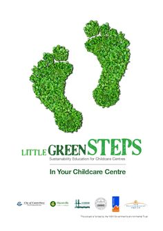 The Little Green Steps project provides a way for sustainability to be integrated into the workplaces of childcare centres, inspiring and empowering children, parents and childcare workers to initiate and achieve tangible sustainability. This links with my strong belief that sustainable practices at a young age can help build a sustainable future.